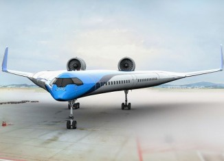 KLM PRESENTA SU PROTOTIPO DE AVIÓN DEL FUTURO