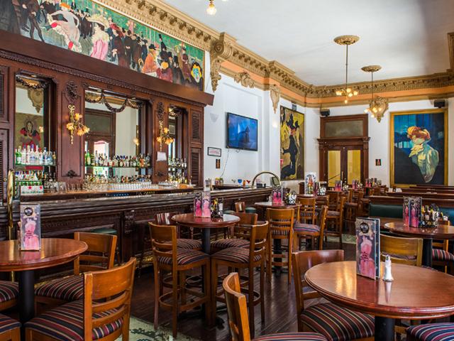 Bar 1900 del Gran Hotel Ancira