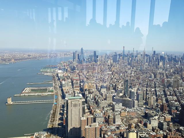Vista de Manhattan desde el One World Observatory