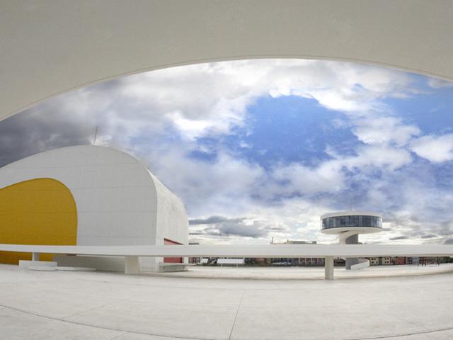 Centro Internacional Cultural Oscar Niemeyer de Avilés