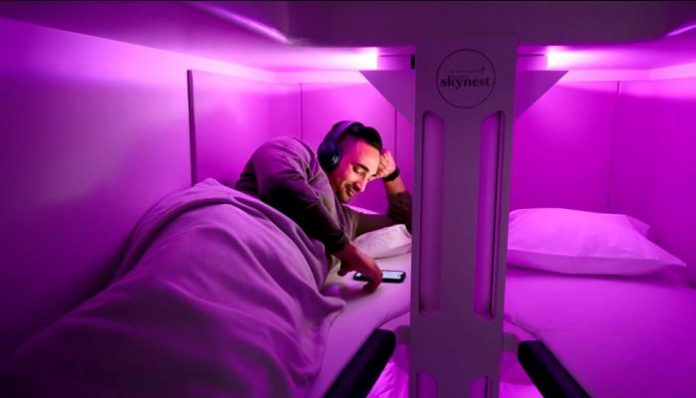 AIR NEW ZEALAND OFRECE LITERAS EN CLASE TURISTA