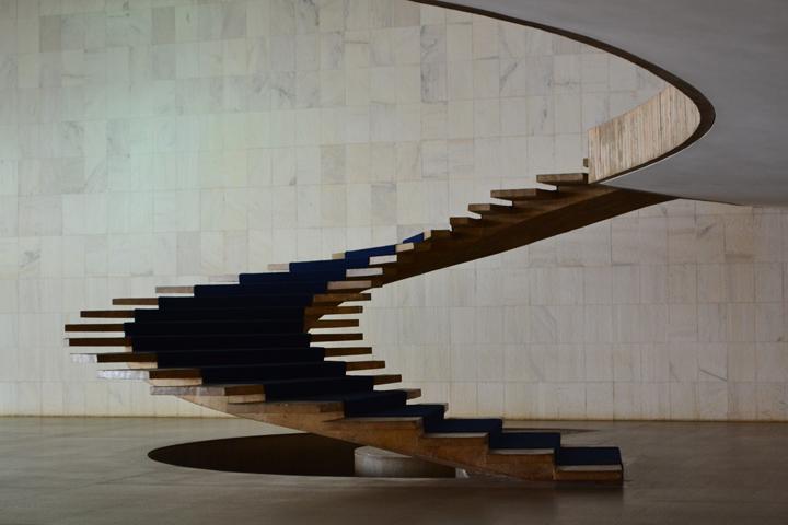 Escalera interior del Palacio de Itamaraty